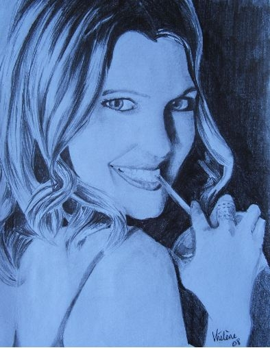 Drew Barrymore by chamalow